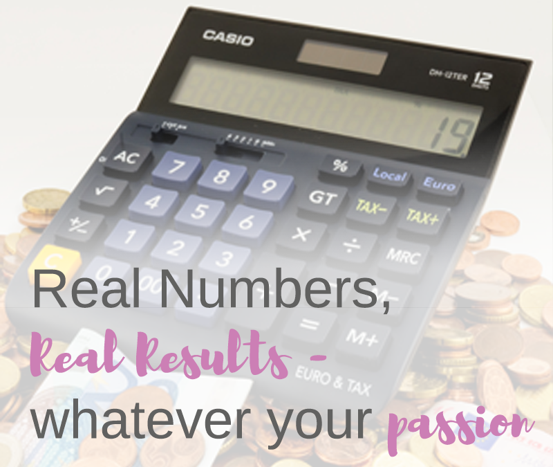 Real numbers, real results – whatever your passion